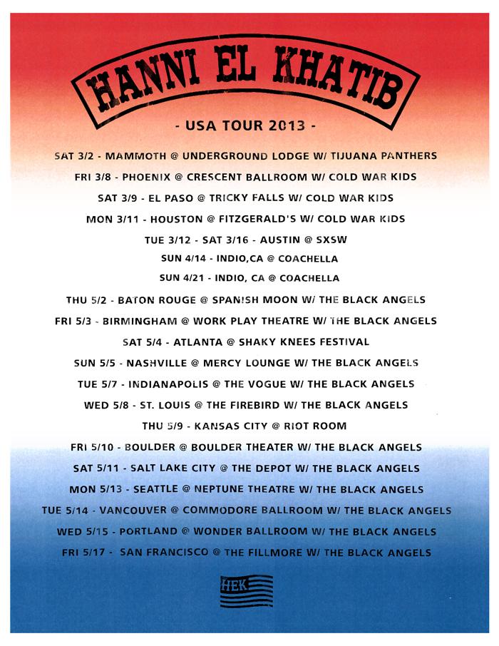 HEK USA Tour