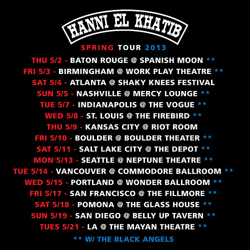 HEK Spring Tour