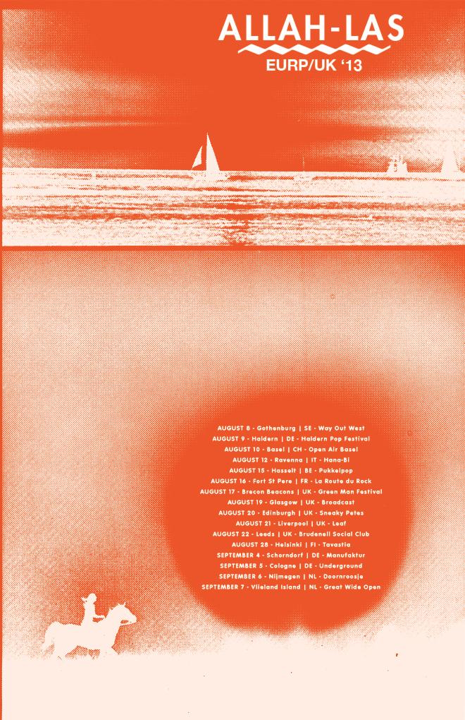 Summer 2013 Tour Poster
