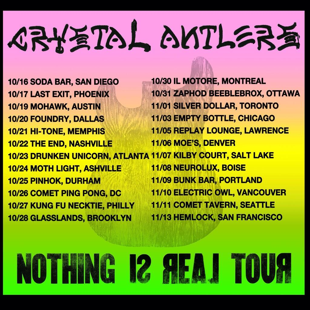 Crystal Antlers Tour