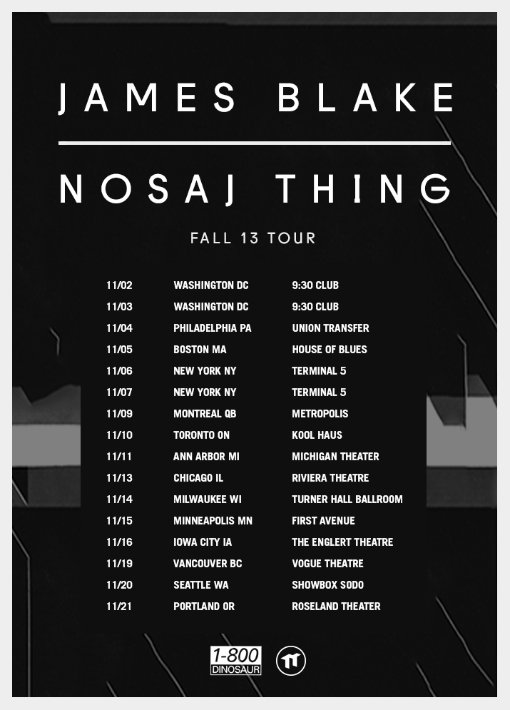 Nosaj Thing Tour