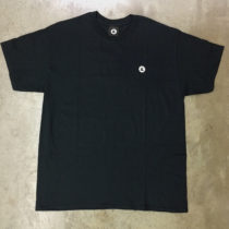 embroidered logo black