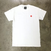 embroidered logo white