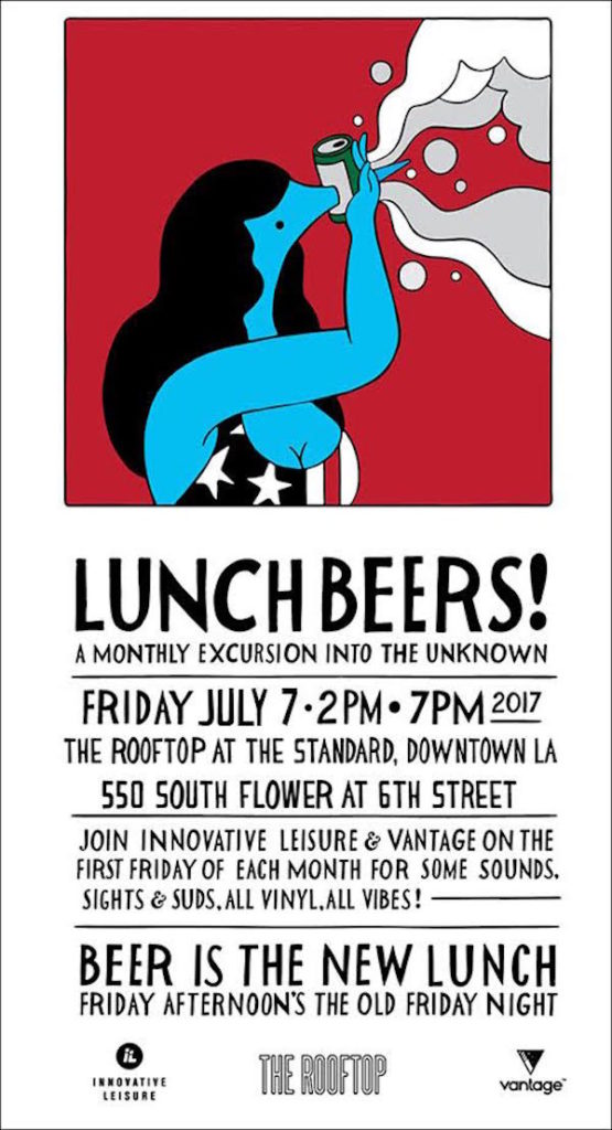 Lunch Beers X July
