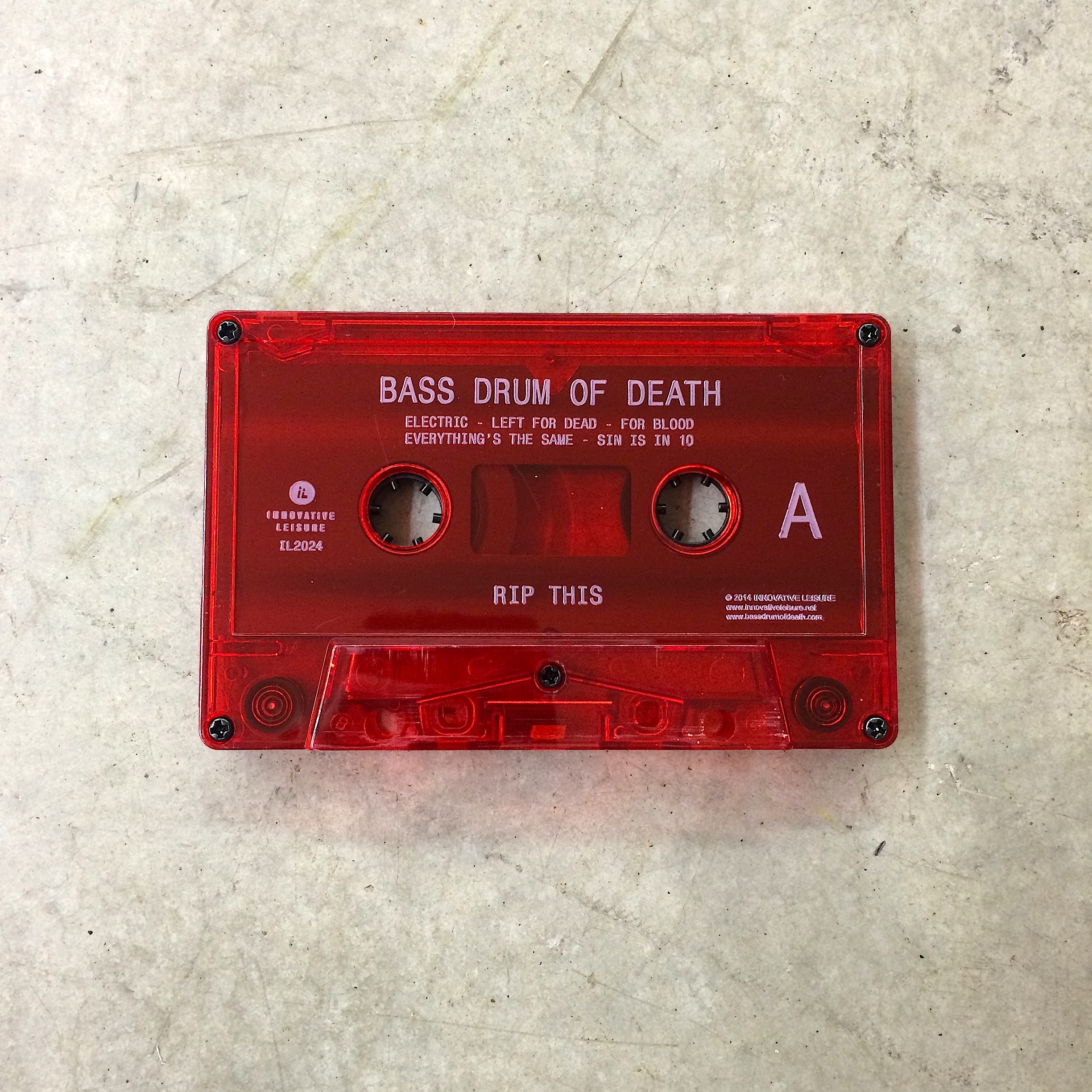 Rip This Cassette Tape – Innovative Leisure